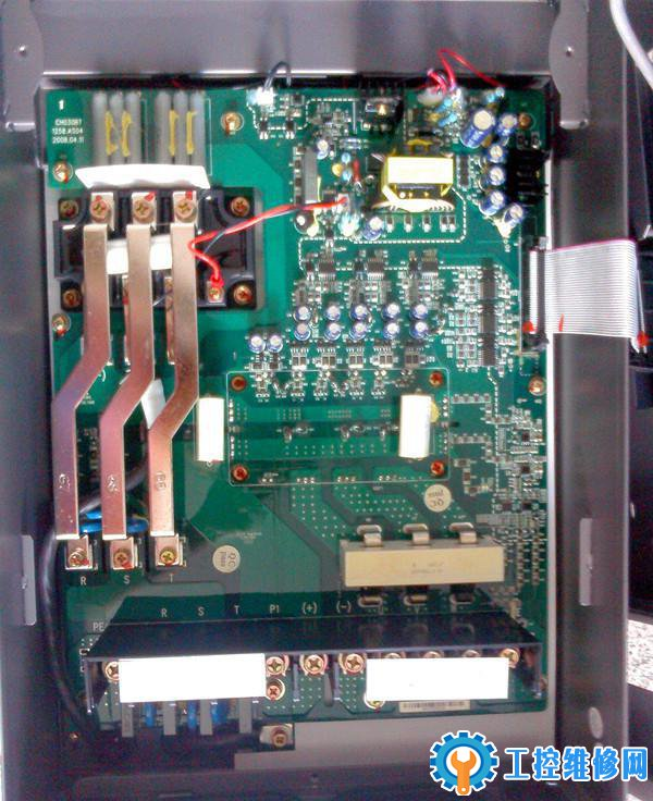 东洋变频器启动不显示故障维修